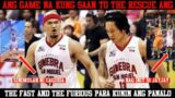 ANG GAME NA KUNG SAAN TO THE RESCUE ANG THE FAST AND THE FURIOUS | PBA FINALS GAME 4 VS MERALCO |